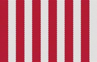 ethnisches rotes geometrisches Muster im Stoffstil. Design für Teppich, Tapete, Kleidung, Verpackung, Batik, Stoff, Vektor-Illustration Stickstil in ethnischen Themen. vektor