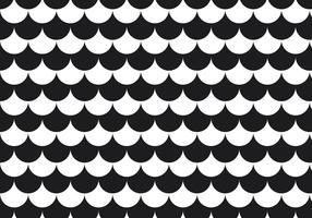 Svartvitt cirkelmönster vektor