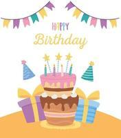 Alles Gute zum Geburtstag Feier Karte