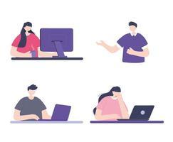 Online-Training mit Menschen