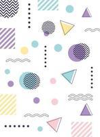 bunter geometrischer und abstrakter Hintergrund