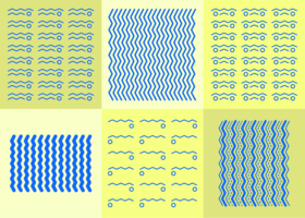 Zickzack-Hintergrund vektor