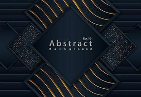 Luxus abstrakter Entwurf dunkler Hintergrund vektor