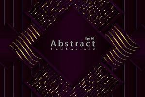 Luxus abstrakter Hintergrund mit geometrischen quadratischen Formen der Illustration vektor