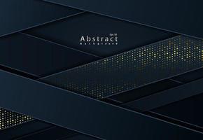 schwarzer Papierschnitt Hintergrund abstrakter Papierschnitt Hintergrund vektor