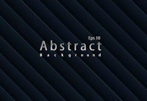 schwarze Papierschnitt Hintergrund abstrakte realistische Papierschnitt Dekoration vektor