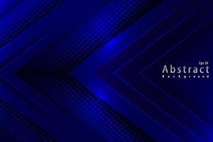 Luxus abstrakter blaues Lichthintergrund mit Papierschnittdekorationshalbton vektor