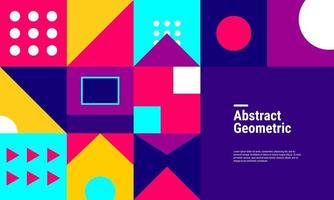 geometrischer Musterhintergrund