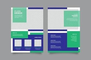 modern webinar flygblad tryck eller post mall