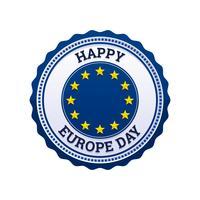 Hervorragende Europa-Tag-Vektoren vektor