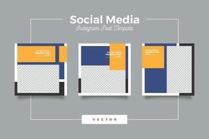 Social-Business-Werbung Social Media Post-Vorlage