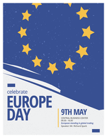 Europadagaffisch vektor