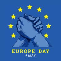 Europadag illustration