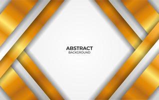 Design-Stil Luxus Weiß und Gold vektor