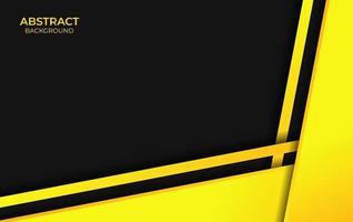 Hintergrund abstrakte gelbe und schwarze Farbe vektor