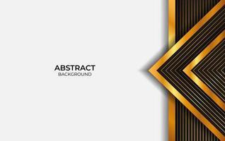 Hintergrund Luxus schwarz und gold vektor