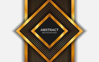 Luxus Hintergrund schwarz und Gold Stil vektor