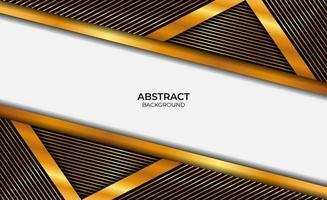 Hintergrund Luxus Gold und Schwarz vektor
