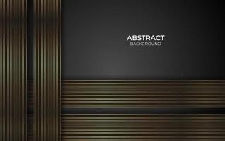 Design Gold Linie Hintergrund Stil vektor