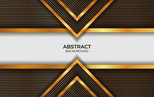 Luxus Design schwarz und gold vektor