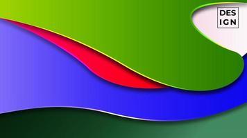 moderner abstrakter Hintergrund des bunten Gradienten. geometrische Formen Hintergrund. kann für Geschäft, Präsentation, Web-Banner, Hintergrund verwenden. vektor