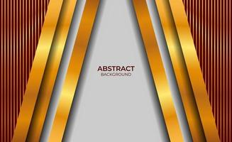 Hintergrund Luxus Rot und Gold Stil vektor