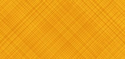 abstrakte diagonale Gitterlinienmuster der Bannerwebschablone gelber Hintergrund. Kratztextur Halloween-Stil. vektor