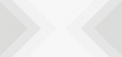 weißes und graues Quadrat des abstrakten Hintergrunds mit Linienmuster vektor