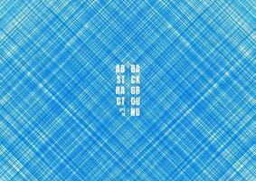 abstrakte blau gestreifte Linien streifen diagonalen Hintergrund und Textur. vektor