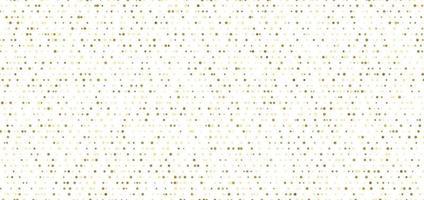 abstrakta sömlösa mönster av guldprickar på vit bakgrund.