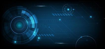 abstrakte digitale technologie ui futuristische hud virtuelle schnittstellenelemente sci fi moderne benutzerbewegungsgrafik. Technologie innovatives Konzept. vektor