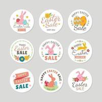 Happy Easter Sale Label vektor