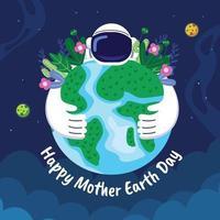 moder jord dag bakgrund vektor
