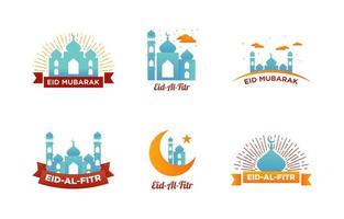 glad eid mubarak vektor