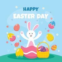 Happy Easter Day Design vektor