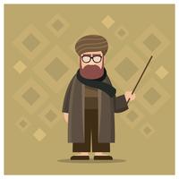 Männlicher Guru-Charakter