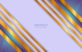 abstraktes blaues und goldenes Hintergrunddesign vektor