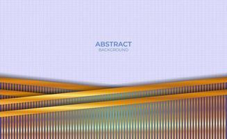 abstrakter Entwurf blauer und goldener Hintergrund vektor