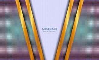 abstraktes Blau und Gold des Hintergrunddesigns vektor