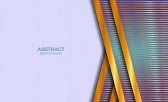 Hintergrund abstrakte blaue und goldene Design vektor