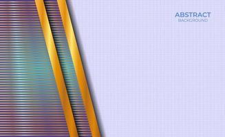 Hintergrunddesign abstrakter Stil Blau und Gold vektor