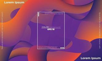 abstraktes flüssiges Farbmuster des flüssigen Gradientenhintergrunds der Neonfarbe