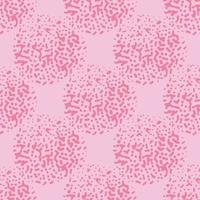 Vektor nahtlose Textur Hintergrundmuster. handgezeichnet, rosa Farben.