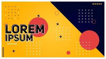 abstrakt modern mall för bannerbakgrundsdesignvektor