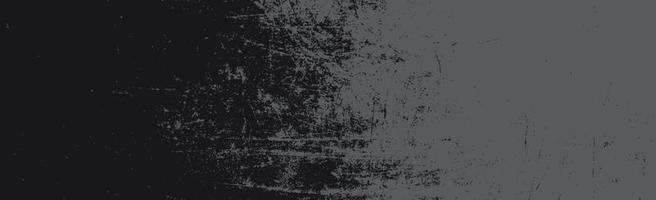 Grunge weiße Linien und Punkte auf einem schwarzen Hintergrund - Vektorillustration vektor