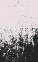 schwarze Linien und Punkte des Schmutzes auf einem weißen Hintergrund - Vektorillustration vektor