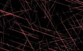 grunge röda linjer och prickar på en röd bakgrund - vektorillustration
