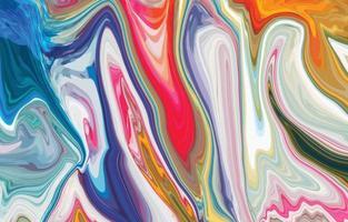 bunter Marmor-Tintenlandschaftshintergrund vektor