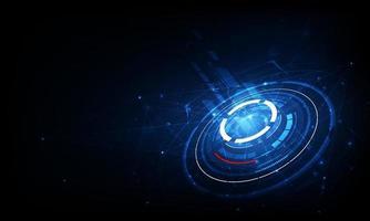 Kommunikationstechnologie für das Internetgeschäft. globales Weltnetz und Telekommunikation vektor