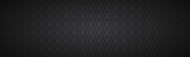 svart abstrakt rubrik med rektanglar. modern vektor widescreen banner. enkel textur illustration